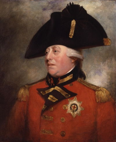 Retrato de Jorge III por Sir William Beechey