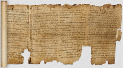 The Great Isaiah Scroll (1QIsaa) • Qumran Cave 1 • 1st century BCE • Parchment • H: 22-25, L: 734 cm • Government of Israel • Accession number: HU 95.57/27