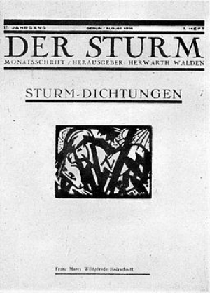 Revista Der Sturm. Wikimedia Commons|